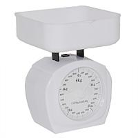 Весы кухонные механические Premier HousewaresLK 2000 V0 безменМеханические кухонные весы Premier Housewares с очень большой, хорошо читаемой шкалой и съемной чашей, придутся по душе каждой хозяйке и станут незаменимым аксессуаром на кухне. Больше не придется использовать продукты на глаз. Весы выдерживают до 5 килограммов. Характеристики: Материал: пластик. Цвет: белый. Размер весов (без чаши): 13,5 см х 15 см х 8 см. Размер чаши: 15 см х 15,5 см х 4 см. Размер упаковки: 15 см х 10 см х 16 см. Производитель: Великобритания. Артикул: 0807216.