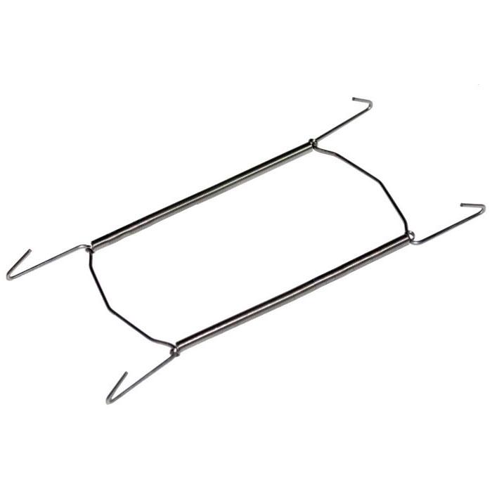 Держатель для тарелок Metaltex большой20.90.02Удобный настенный держатель для декоративных тарелок Metaltex выполнен из латуни. Держатель крепится к стене на петлю. При помощи специальных пружин держатель можно регулировать под необходимый размер тарелки (от 18 см до 26 см). Такой держатель поможет оригинально украсить интерьер вашей кухни. Характеристики: Материал: латунь. Минимальная длина: 16 см. Производитель: Италия. Артикул: 20.90.02.
