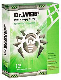 Антивирус Pro Dr.Web для Windows, Mac OS, Linux