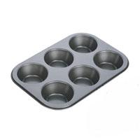 Форма для выпечки Tescoma на 6 пышек. 623220623220Форма для выпечки Tescoma будет отличным выбором для всех любителей домашней выпечки. Форма идеально подойдет для приготовления пышек, мини-кексов, тарталеток и т.д. Особое высокотехнологичное антипригарное покрытие препятствует пригоранию и обеспечивает легкую очистку после использования. Форма имеет специальную петлю, за которую изделие легко подвесить в удобном месте. С такой формой Вы всегда сможете порадовать своих близких оригинальной выпечкой. Характеристики: Материал: металл с антипригарным покрытием. Диаметр формочки для пышки: 7 см. Высота формочки для пышки: 2 см. Производитель: Чехия. Артикул: 623220.