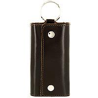 "Ключница Befler ""Classic"", цвет: темно-коричневый. KL.3.-1 KL.3.-1.brown"