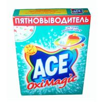 Пятновыводитель Ace Oxi Magic, 500 гAC-81498160Пятновыводитель Ace Oxi Magic предназначен для стирки в автоматических стиральных машинах и ручной стирки. Пятновыводитель содержит комплекс элементов, которые улучшают качество стирки и позволяют использовать небольшое количество порошка. Ace Oxi Magic  помогает безопасно удалять пятна и дольше сохранять яркость ткани благодаря системе живой цвет. Характеристики: Вес: 500 г. Изготовитель: Россия. Товар сертифицирован.