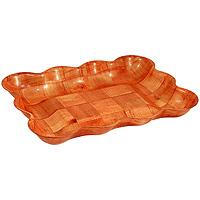 Ваза для фруктов Oriental way Шафран 23 х 32см RPP-1013BRPP-1013BОригинальная деревянная ваза Шафран прекрасно подойдет для вашей кухни. Предназначена для красивой сервировки фруктов. Ваза выполнена из высококачественной древесины березы. Изящный дизайн придется по вкусу и ценителям классики, и тем, кто предпочитает утонченность и изысканность. Характеристики: Материал: дерево. Размер: 23 см х 32 см х 4,5 см. Производитель: Тайвань. Артикул: RPP-1013B. Торговая марка Oriental way известна на рынке с 1996 года. Эта марка объединяет товары для кухни, изготовленные из дерева и других материалов. Все товары марки Oriental way являются безопасными для здоровья, экологичными, прочными и долговечными в использовании.