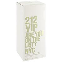 Carolina Herrera 212 VIP. Парфюмированная вода, 80 мл1301210Аромат 212 VIP нашел свое вдохновение у молодых и творческих людей Нью-Йорка, которые пишут будущую историю мегаполиса, истинных VIP персон.Яркие эпатажные люди, которые любят и умеют хорошо проводить время. Основная идея аромата «А вы есть в списке?» – фраза, пришедшая из мира VIP, но не имеющая ничего общего с деньгами или известностью. Быть в списке - значит обладать особой жизненной позицией и неординарными личностными характеристиками. 212 VIP веселый, праздничный, цветочный аромат, который сочетает в себе стиль и отношение к жизни, покоряя тремя своими основными гранями. Ноты пьянящего рома и экзотической маракуй воплощают с собой аккорд вечеринки. Взрывной коктейль, которым можно наслаждаться в любое время! Светский аккорд - отличительная черта нового поколения 212 VIP. Он передается нотами всепоглощающего мускуса и изысканной гардении. Аура исключительности. Наконец, стильный аккорд заключен в ингредиентах, придающих аромату обворожительный шарм: восхитительная ультра-женственная ваниль и чувственные бобы Тонка, создают неповторимое изысканное очарование. Верхняя нота: Горький апельсин, маракуйя.Средняя нота: Гардения, ром.Шлейф: Бензоин, ваниль.Ром и Маракуйя - вот правильный рецепт крутой вечеринки.