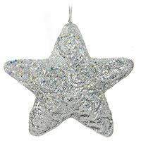 Набор подвесных украшений Звезды, цвет: серебристый, 4 шт09840-20.000.00Набор подвесных пластиковых украшений украсит новогоднюю елку и создаст теплую и уютную атмосферу праздника. Украшения упакованы в коробку, перевязанную серебристой лентой. Новогодние украшения всегда несут в себе волшебство и красоту. Почувствуйте волшебные минуты ожидания праздника, создайте новогоднее настроение вашим дорогим и близким! Характеристики:Материал:пластик. Размер украшения: 11,5 см х 10,5 см х 3 см.Комплектация:4 шт. Размер упаковки: 12 см х 33,5 см х 4,5 см. Изготовитель: Китай. Артикул: 0195-1100.