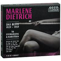 Marlene Dietrich. Das Beste 1929-1959 (4 CD) 2011 4 Audio CD