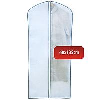 Чехол для одежды Hausmann, 60 х 135 см 2B-3601352B-360135Удобный чехол для одежды на молнии из прочного дышащего и водонепроницаемого материала обеспечит надежное хранение Вашей одежды, защитит от повреждений во время хранения и транспортировки. Особая фактура ткани не пропускает пыль и при этом позволяет воздуху свободно проникать внутрь, обеспечивая естественную вентиляцию. Характеристики: Материал: полиэтилен, нетканное полотно. Размер: 60 см х 135 см. Артикул: 2B-360135. Произведено в Китае по заказу Hausmann. Продукция компании Hausmann достаточно хорошо известна на российском рынке. Используя современные технологии в качестве неисчерпаемого источника для вдохновения, она не перестает радовать покупателей товарами отменного качества. Разнообразие товаров приятно удивляет. Вы действительно сможете найти то, что вам необходимо! Вся продукция тщательно проверяется на предмет надежности и безопасности, и вы можете быть уверенными в том, что купленная однажды вещь долго прослужит вам верой и...