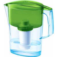 """Фильтр-кувшин для воды Аквафор """"Ультра"""", цвет: прозрачный, салатовый, 2,5 л"""