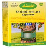 Клейкий пояс для деревьев Aeroxon, 3,5 м46762Клейкий пояс для деревьев Aeroxon, не содержащий ядов, для борьбы с гусеницами, муравьями и другими ползающими насекомыми. Не наносит вреда полезным насекомым и устойчив к влажности. В комплекте с крепежной веревкой. Характеристики: Длина пояса: 3,5 м. Длина веревки: 8,5 м. Размер упаковки: 10,5 см х 9,5 см х 5 см. Изготовитель: Германия. Артикул: Т24065.