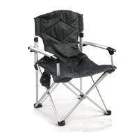 Кресло складное KingCamp Deluхe. КС3808S04401004Складное кресло KingCamp Deluxe с широким сиденьем - незаменимым предметом в походе, на природе, на рыбалке, а также на даче. У кресла есть подвесной карман для мелочей.Кресло имеет прочный металлический каркас и покрытие из текстиля, оно легко собирается и разбирается и не занимает много места, поэтому подходит для транспортировки и хранения дома. Для большего удобства к креслу прилагается чехол для хранения с удобной ручкой. Характеристики: Размер в разложенном виде: 67 см х 55 см х 97 см. Высота спинки сиденья: 48 см. Размер в сложенном виде: 90 см х 22 см х 19 см. Материал: полиэстер 1200DOxford PVC, алюминий. Вес: 3,7 кг. Производитель: Китай. Артикул: 3808.