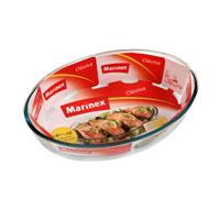 Блюдо для запекания Marinex Classica, 1,6 лGD16343410Овальное блюдо для запекания Marinex Classica изготовлено из жаропрочного боросиликатного стекла. Блюдо идеально подходит для использования в духовках, микроволновых печах, холодильных и морозильных камерах, посудомоечных машинах. Жаропрочное блюдо для запекания Marinex станет незаменимым помощником у вас на кухне. Характеристики: Материал: боросиликатное стекло. Объем блюда: 1,6 л. Размер блюда: 26,2 см х 18,2 см х 6 см. Изготовитель: Бразилия. Артикул: GD1.6343.41-0.
