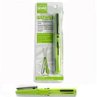 Ножницы Kum для правшей и левшейK-Pen CutНожницы Kum в форме ручки со специальным механизмом, благодаря которому одинаково подходят для правшей и левшей. Выполнены из качественной стали. Характеристики: Материал: нержавеющая сталь, пластик. Длина ножниц: 12,8 см.