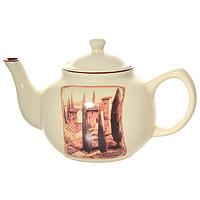 Чайник Terracotta Итальянская деревня 1 л TLY801-1-V-ALVT-1520(SR)Чайник Итальянская деревня изготовлен из жаропрочной керамики с нанесением высококачественной глазури.Чайник станет отличным дополнением к вашему кухонному инвентарю, а также украсит сервировку стола и подчеркнет прекрасный вкус хозяина. Допускается мытье в посудомоечной машине при соблюдении инструкции изготовителя посудомоечной машины. Характеристики:Материал: керамика. Диаметр чайника по верхнему краю: 9 см. Наибольший диаметр чайника: 15 см. Диаметр основания чайника: 9 см. Высота чайника (без крышки): 11 см. Высота чайника (с крышкой): 15 см. Размер чайника (с ручкой, носиком и крышкой): 25 см х 15 см 15 см. Объем чайника: 1 л. Размер упаковки: 21,7 см х 15 см х 11,5 см. Производитель: Италия. Изготовитель: Китай. Артикул: TLY801-1-V-AL.Торговая марка Terracotta - это коллекции разнообразной посуды для сервировки стола, хранения продуктов и приготовления пищи из жаропрочной керамики, покрытой высококачественной глазурью. Изделия Terracotta идеально подходят для выпечки, приготовления различных блюд и разогревания пищи в духовом шкафу или микроволновой печи. Может использоваться для хранения продуктов, в том числе в холодильнике. При приготовлении или охлаждении пищи рекомендуется использовать постепенный нагрев или охлаждение. Посуда торговой марки Terracotta совмещает в себе современные технологии и новые идеи, благодаря чему достигаются высокое качество, разнообразие форм и дизайнов.