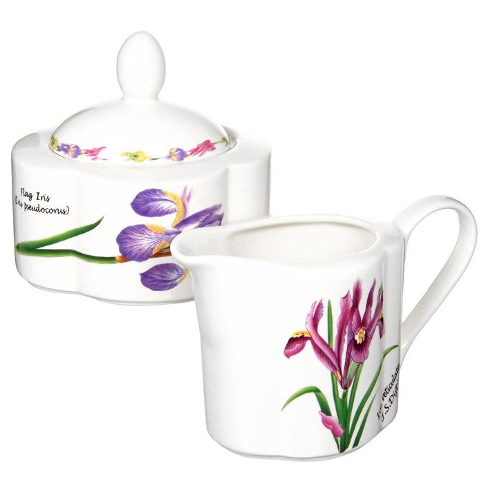 Набор посуды Ирисы: сахарница, молочникIM15018B/C-A93ALНабор Ирисы, выполненный из высококачественной керамики, станет оригинальным решением для вашей кухни. Набор включает в себя сахарницу и молочник. Такой набор отлично подойдет для красивой сервировки стола к завтраку. Характеристики: Материал: керамика. Высота молочника: 9 см. Объем молочника: 0,25 л. Размер сахарницы: 11 см х 6 см х 9 см. Объем сахарницы: 0,3 л. Размер упаковки: 18,5 см х 9,5 см х 10,5 см. Изготовитель: Китай. Артикул: IM15018B/C-A93AL. Изделия торговой марки Imari произведены из высококачественной керамики, основным ингредиентом которой является твердый доломит, поэтому все керамические изделия Imari - легкие, белоснежные, прочные и устойчивы к высоким температурам. Высокое качество изделий достигается не только благодаря использованию особого сырья и новейших технологий и оборудования при изготовлении посуды, но также благодаря строгому контролю на всех этапах производственного...