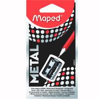 """Точилка металлическая Maped """"Satellite"""", цвет: черный 034019"""
