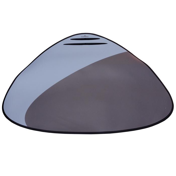 Настольная подкладка для письма Desk Mat, цвет: серый7208-01Настольная подкладка для письма Desk Mat очень удобна для письма и позволяет хранить на столе нужную информацию - заметки, номера телефонов. Подкладка имеет прозрачный верхний лист, нескользящую основу и резиновый ограничитель для пишущих принадлежностей. Характеристики: Материал: ПВХ, резина, поролон. Размер: 50 см х 68 см.
