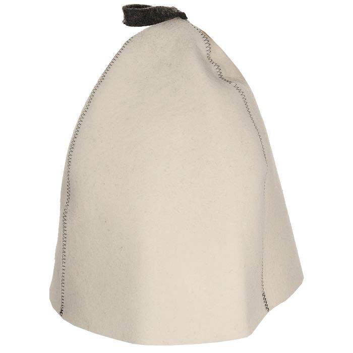 Шапка для бани и сауны Трехклинка, цвет: белый. Б4542Б4542Шапка для бани и сауны это незаменимый аксессуар для любителей попариться в русской бане и для тех, кто предпочитает сухой жар финской бани. Шапка Трехклинка- традиционная финская модель шляпы для бани. Любители бани оценят удобную форму шапки, т.к. большой размер изделия позволяет отгибать поля и регулировать форму шапки по своему вкусу и удобству. Шапка защитит вас от появления головокружения в бани, ваши волосы от сухости и ломкости, а голову от перегрева. Такая шапка станет отличным подарком для любителей отдыха в бане или сауне.