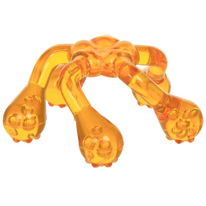 Массажер медицинский Лапонька-2 в ассорт.11209Медицинский массажер Лапонька-2 удобно размещается в ладони, не требуя дополнительной поддержки или захвата, за счет удобного расположения ножек, что значительно упрощает процесс массажа, и снимает напряжение с мышц предплечья, плеча, шеи, спины пользователя. Дополнительные массажные элементы на каждой из пяти ножек значительно расширяют возможности воздействия массажером на более глубокие структуры организма и позволяют получить более выраженный и стойкий эффект от массажа. Характеристики: Материал: пластик. Размер массажера: 13,7 см х 13,7 см х 6,5 см. Производитель: Россия.