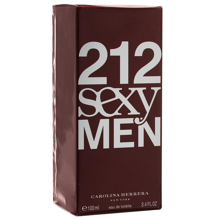 "Carolina Herrera ""212 Sexy Men"". Туалетная вода, 100 мл 65019660"