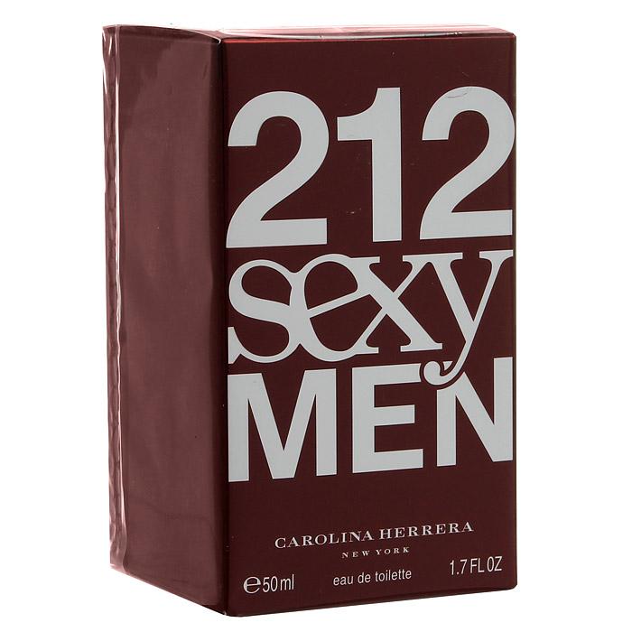 "Carolina Herrera ""212 Sexy Men"". Туалетная вода, 50 мл 65019661"