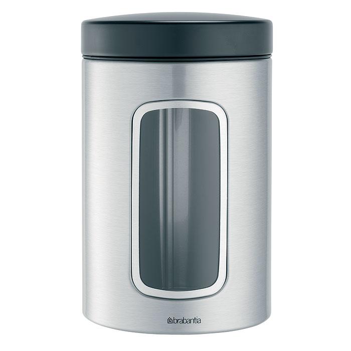 Банка для продуктов Brabantia 1,4 л 299247299247В контейнере Brabantia вместимостью 1,4 литра можно хранить все, что угодно. Эта высокая модель цилиндрической формы отлично подойдет для специй, печенья и других продуктов. Специальная защелкивающаяся крышка не пропускает запахи и позволяет дольше сохранять аромат и свежесть продуктов. Прозрачное окошко из антистатических материалов, благодаря которому вы всегда знаете, что и в каком количестве содержится в каждом контейнере; Контейнер имеет гладкую внутреннюю поверхность и легко чистится; Прочный и долговечный — изготовлен из коррозионностойких материалов; Специальная защелкивающаяся не пропускающая запах крышка; Основание с защитным покрытием; 10-летняя гарантия Brabantia. Характеристики: Материал: нержавеющая сталь, пластик, акрил. Объем банки: 1,4 л. Высота банки (без учета крышки): 17 см. Диаметр банки: 9 см. Производитель: Бельгия. Артикул: 299247. Гарантия...