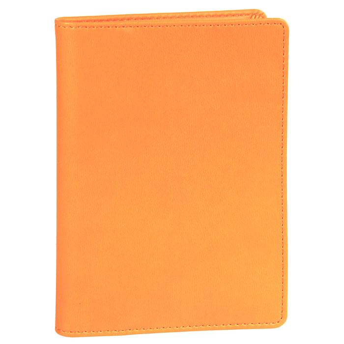 Обложка на автодокументы Skiver, цвет: оранжевый67936Обложка на автодокументы Skiver выполнена из высококачественной итальянской искусственной кожи с гладкой поверхностью. Внутри - отделение для купюр, пять прорезных карманов для кредитных карт, удобный блок для водительских документов из прозрачного пластика и три кармана для бумаг из прозрачного пластика. Такая обложка станет замечательным подарком человеку, ценящему качественные и практичные вещи.