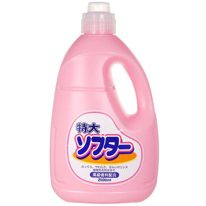 Кондиционер для белья Soft Pink, 2,5 л202015Кондиционер Soft Pink в экономичной упаковке подходит для хлопкового, шерстяного и синтетического белья. Предотвращает образование катышек, статического электричества, сохраняет качество ткани.