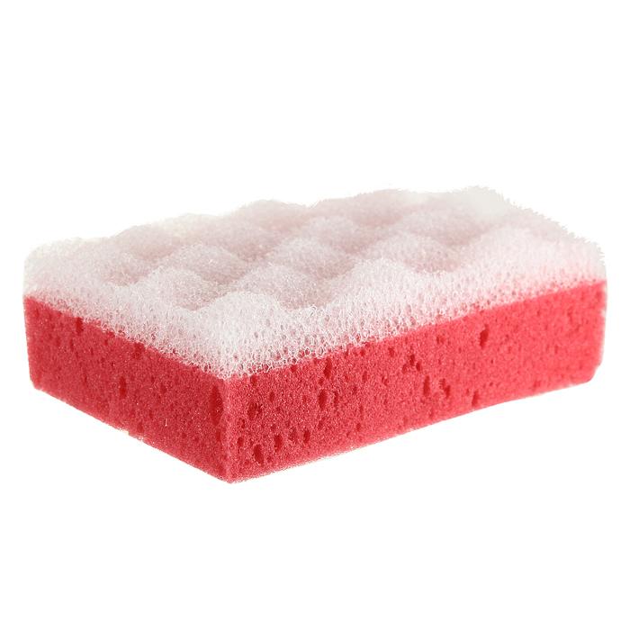 Губка для тела Eva, с массажным слоем, цвет: красныйМГ001Губка для тела Eva изготовлена из пенополиуретана и оснащена массажным слоем. Губку можно использовать в ванной, в бане или в сауне. Она улучшает циркуляцию крови и обмен веществ, делает кожу здоровой и красивой. Подходит для ежедневного применения.