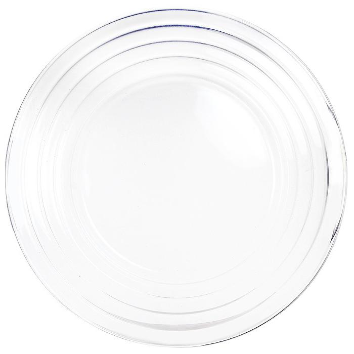 Тарелка Grace, диаметр 35 см. 6810768107Тарелка Grace выполненная из хрусталина, отлично подойдет для красивой сервировки различных блюд. Она отличается особой легкостью и прочностью, излучает приятный блеск и издает мелодичный хрустальный звон. Тарелка Grace станет идеальным украшением праздничного стола, а также послужит отличным подарком. Посуда серии F&D из хрусталина - новое направление компании Pasabahce . Хрусталин - это хрусталь на основе оксида бария без содержания окиси свинца. Хрусталин обладает всеми свойствами классического хрусталя.