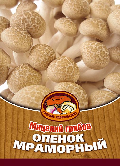 """Грибное удовольствие Мицелий грибов """"Опенок мраморный белый"""", 16 древесных палочек 10032"""