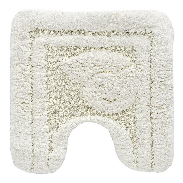 Коврик для туалета Escargot, цвет: светло-бежевый, 50 x 50 см1041083Коврик для туалета Escargot светло-бежевого цвета выполнен из натурального хлопка. Прорезиненная основа коврика позволяет использовать его во влажных помещениях, предотвращает скольжение коврика по гладкой поверхности, а также обеспечивает надежняую фиксацию ворса. Коврик добавит тепла и уюта в ваш дом. Характеристики: Материал: 100% хлопок. Размер: 50 см х 50 см. Производитель: Швейцария. Изготовитель: Бельгия. Артикул: 1041083.