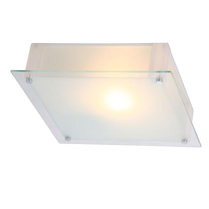 Светильник настенно-потолочный Globo. 4832048320Светильник настенно-потолочный Globo отлично впишется в интерьер вашего дома. Он хорошо смотрится как в классическом, так и в современном помещении, на штукатурке, дереве или обоях любой расцветки. Светильники и люстры - предметы, без которых мы не представляем себе комфортной жизни. Сегодня функции люстры не ограничиваются освещением помещения. Она также является центральной фигурой интерьера, подчеркивает общий стиль помещения, создает уют и дарит эстетическое удовольствие.