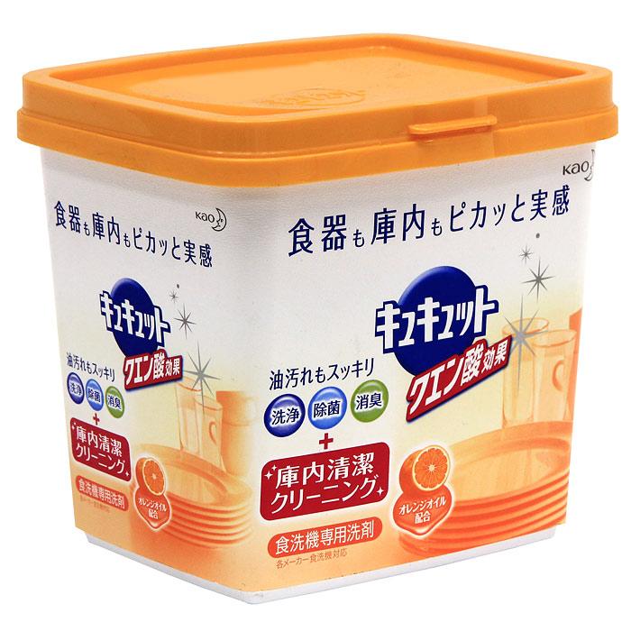 Порошок для посудомоечной машины KAO Citric Acid Effect, аромат апельсина, 680 г25984Порошок для посудомоечной машины с легким ароматом апельсина. Новая формула порошка снимает грязь не только с посуды, а также заботится о чистоте посудомоечной машины. Компоненты тщательно обволакивают каждую частицу грязи и не дают ей прилипнуть к стенкам машины. Двойная сила частиц кислорода и лимонной кислоты в составе также легко удаляет подгары, снимает тусклость со стеклянных стаканов, которые было сложно смыть обычными моющими средствами. Порошок укомплектован мерной ложечкой. Нельзя использовать на лакированной, серебряной, алюминиевой посудах, на хрустале, на посуде с позолотой или с серебряным покрытием. СПОСОБ ПРИМЕНЕНИЯ: (если размер машины рассчитан на 5-7 человек, 40-50 единиц), то для сильных – 9г, для обычных – 6г, для слабых – 4,5г. Характеристики: Вес: 680 г. Состав: ПАВ(3%), полиэфирный полиол, щелочной элемент(карбонат), вещество для умягчения воды(цитрат), сульфат, диспергатор, поверхностное модифицированное вещество, отбеливающее вещество,...