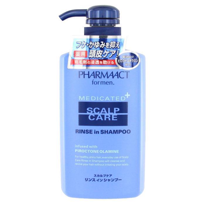 Шампунь Pharmaact 2 в 1, против перхоти и зуда кожи головы, для мужчин, 400 млFS-00897Мужской шампунь Pharmaact 2 в 1 против перхоти и зуда кожи головы подходит для ежедневного использования. Шампунь очищает и восстанавливает волосы, не раздражая кожу головы. Подходит для чувствительной кожи головы. Придает волосам здоровый и сияющий вид, а активный компонент пироктоноламин предотвращает появление перхоти и зуда кожи головы. Дикалийглицериновой кислоты - увлажняющий компонент удерживает влагу, предотвращая сухость и ломкость волос.Характеристики:Объем: 400 мл. Производитель: Япония. Артикул: KY-41. Товар сертифицирован.