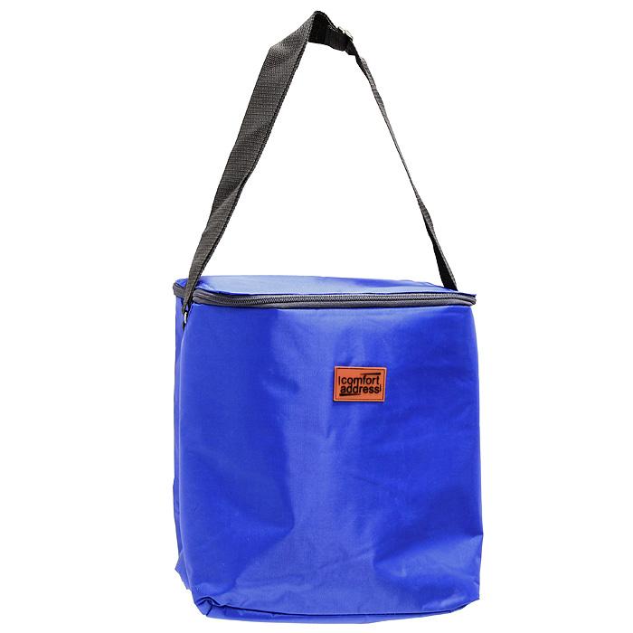 Сумка-холодильник EASY, цвет: синий, 18 л19201Сумка-холодильник EASY предназначена для сохранения температуры продуктов и напитков. Она изготовлена из текстильных материалов с теплоизолирующей подкладкой. Сумка-холодильник подходит для транспортировки продуктов и напитков. Особенности сумки-холодильник EASY: внешний слой - это крепкая ткань с непромокаемой пропиткой многослойная изоляция внутренний слой серебристого цвета абсолютно герметичен сумка работает максимально эффективно при полном заполнении сохраняет низкую температуру до 6 часов без аккумулятора холода для длительного поддержания температуры рекомендуется пользовать аккумуляторы температуры (не входят в комплект) из расчета 200 грамм на каждые 6 литров объема. рабочая температура сумки от +50°С до -20°С. Внимание! Не следует хранить в сумке острые предметы, они могут повредить внутренний слой. Характеристики: Материал:полиэстер, ПВХ. Объем: 18 л. Размер: 26 см х 31 см х 19 см. Рабочая температура сумки: +50°С до -20°С. Цвет:синий. Производитель: Россия.Артикул: ice 033.