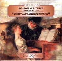 Sviatoslav Richter. Lovro von Matacic. R.Schumann - piano concerto in A minor, Op.54. E.Grieg - piano concetro in A minor, Op.16 Audio