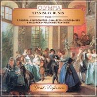Stanislav Bunin, piano. F.Chopin. 4 impromptus, 3 waltzes, 3 ecossaises, 6 mazurkas. Polonaise-fantaisie Audio CD