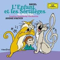 Maurice Ravel. L`Enfant et les sortileges. Andre Previn 1999 Audio CD