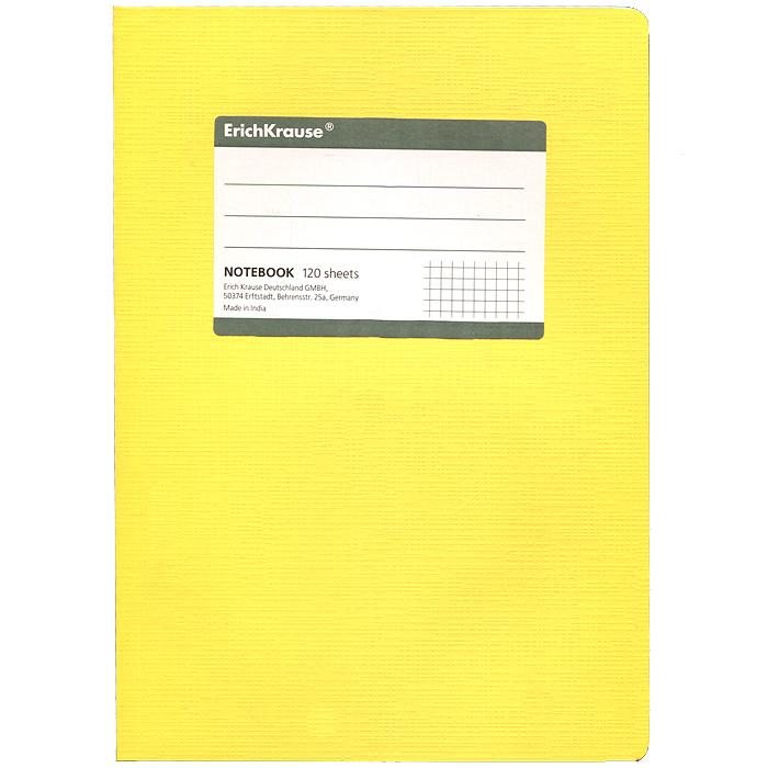 Тетрадь Fluor, цвет: желтый, 120 листов, А5SMA510-V8-ETТетрадь Fluor в клетку из белой офсетной бумаги послужит прекрасным местом для различных записей. Обложка тетради выполнена из тонкого картона с покрытием. Такая тетрадь подойдет как школьнику, так и студенту. Характеристики:Размер тетради: 14,5 см х 20,5 см х 1,1 см. Формат: А5. Количество листов: 120. Материал: картон, бумага. Изготовитель: Индия.