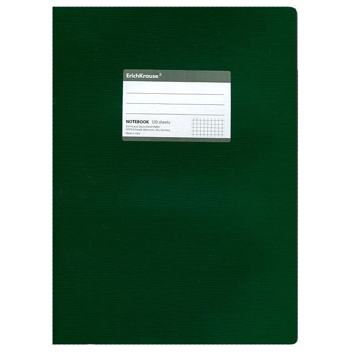 Тетрадь One Color, цвет: зеленый, 120 листов, А427977Тетрадь One Color в клетку из белой офсетной бумаги послужит прекрасным местом для различных записей. Обложка тетради выполнена из тонкого картона с покрытием. Такая тетрадь подойдет как школьнику, так и студенту. Характеристики: Размер тетради: 20,5 см х 29 см х 1,1 см. Формат: А4. Количество листов: 120. Материал: картон, бумага. Изготовитель: Индия.