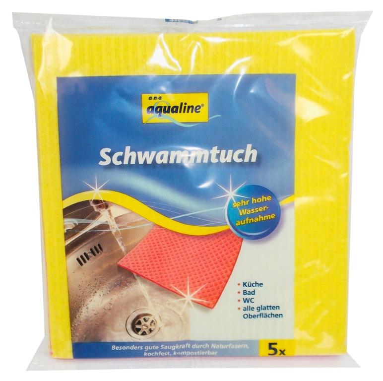 Набор губчатых салфеток Aqualine, 18 х 20 см, 5 шт222530Набор Aqualine состоит из пяти губчатых салфеток, предназначенных для уборки. Благодаря натуральным волокнам салфетки эффективно впитывает влагу и эластичны. Они прекрасно удаляют различные загрязнения с гладких поверхностей. Можно стирать при температуре не выше 95 °С. Характеристики: Материал: 80% вискоза, 20% хлопок. Размер: 18 см х 20 см. Комплектация: 5 шт. Производитель: Германия. Артикул: 222530. Уважаемые клиенты! Обращаем ваше внимание на возможные изменения в дизайне упаковки. Качественные характеристики товара остаются неизменными. Поставка осуществляется в зависимости от наличия на складе.