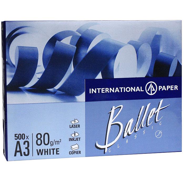 Бумага офисная Ballet Classic, 500 листов, А3