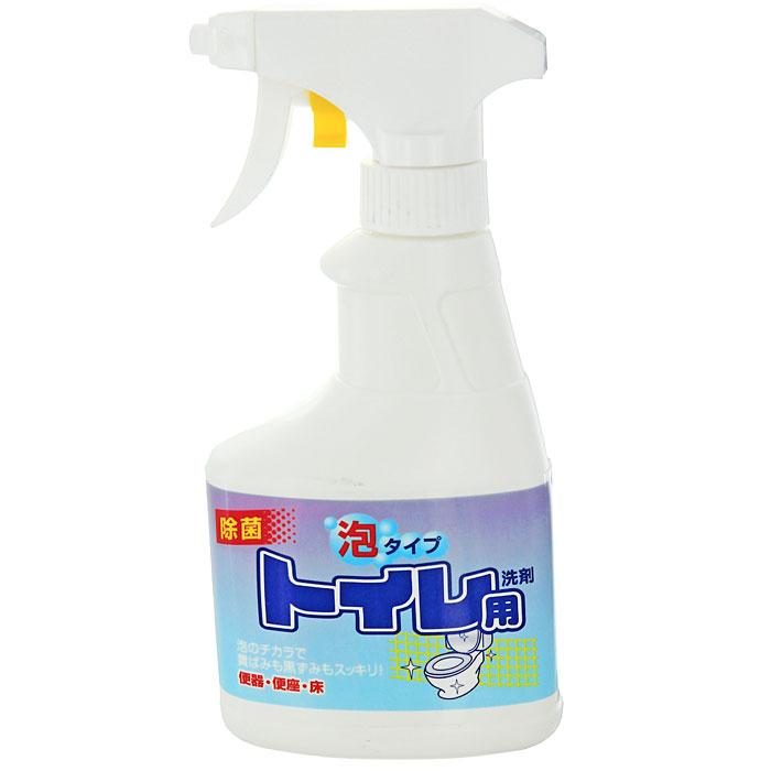 Чистящий спрей Rocket Soap для туалета, 300 мл301505Спрей Rocket Soap предназначен для чистки туалета. Он хорошо пенится и превосходно очищает загрязнения в унитазе, устраняет неприятный запах. Он имеет среднюю щелочность, не содержит хлора и хлористых кислот. Эргономичный флакон оснащен высоконадежным курковым распылителем, позволяющим легко и экономично наносить раствор на загрязненную поверхность. Характеристики: Объем: 300 мл. Производитель: Япония. Товар сертифицирован.