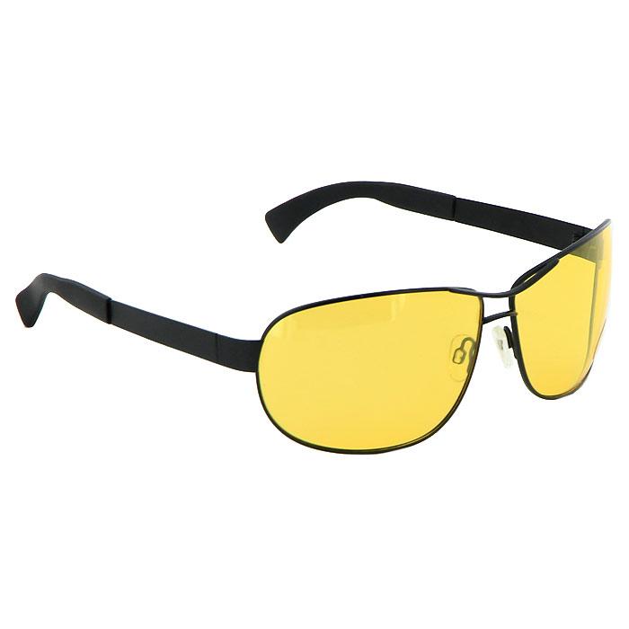 Солнцезащитные очки Pro Vision, универсальные, цвет: черный. DC60465YBM8434-58AEСолнцезащитные поляризационные очки Pro Vision - универсальны и уникальны, они подходят как для вождения автомобиля, так и для туризма, рыбалки, спорта и активного образа жизни. Основные особенности очков Pro Vision: Не пропускают ультрафиолетовое излучение, которое крайне вредно для глаз;Способствуют улучшению цветоразличения даже в неспокойную погоду;Повышают контрастность зрения. Надев эти очки, вы сможете четко видеть пространство впереди себя. Оправа очков легкая и не создает никакого дискомфорта. Цвет линз - желтый, оправа - черная. Характеристики: Материал: пластик, металл. Ширина оправы: 14,5 см. Длина дужки: 12 см. Размер упаковки: 19 см x 8,5 см x 7,5 см. Изготовитель: Китай. Артикул:DC60465Y.
