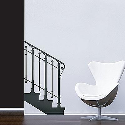 Стикер Paristic Основание лестницы, влево, 65 х 116 смUP210DFДобавьте оригинальность вашему интерьеру с помощью необычного стикера Основание лестницы. Изображение на стикере имитирует силуэт лестничного марша с перилами. Необыкновенный всплеск эмоций в дизайнерском решении создаст утонченную и изысканную атмосферу не только спальни, гостиной или детской комнаты, но и даже офиса. Стикер выполнен из матового винила - тонкого эластичного материала, который хорошо прилегает к любым гладким и чистым поверхностям, легко моется и держится до семи лет, не оставляя следов.Сегодня виниловые наклейки пользуются большой популярностью среди декораторов по всему миру, а на российском рынке товаров для декорирования интерьеров - являются новинкой. Характеристики:Материал:винил. Размер стикера: 65 см х 116 см. Размер упаковки:80 см х 11 см х 5,5 см. Производитель: Франция.Комплектация: виниловый стикер; инструкция. Paristic - это стикеры высокого качества. Художественно выполненные стикеры, создающие эффект обмана зрения, дают необычную возможность использовать в своем интерьере элементы городского пейзажа. Продукция представлена широким ассортиментом - в зависимости от формы выбранного рисунка и от Ваших предпочтений стикеры могут иметь разный размер и разный цвет (12 вариантов помимо классического черного и белого). В коллекции Paristic - авторские работы от урбанистических зарисовок и узнаваемых парижских мотивов до природных и графических объектов. Идеи французских дизайнеров украсят любой интерьер: Paristic - это простой и оригинальный способ создать уникальную атмосферу как в современной гостиной и детской комнате, так и в офисе.В настоящее время производство стикеров Paristic ведется в России при строгом соблюдении качества продукции и по оригинальному французскому дизайну.