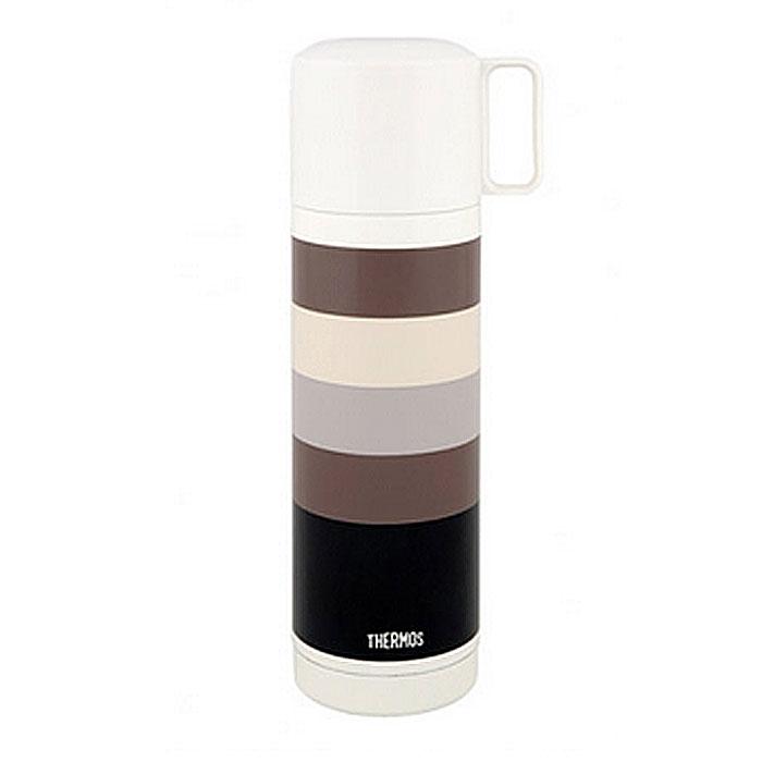 Термос для напитков Thermos Fej Black, 500 мл836090Термос для напитков Thermos Fej Black будет незаменим во время путешествий, поездок на пикник или на дачу. Особенности термоса Thermos Fej Black: внешние и внутренние стенки термоса выполнены из высококачественной нержавеющей стали, устойчивой к разрушению термос оснащен вакуумной технологией Thermax: Сохраняет тепло 8 часов, холод 24 часа широкое горло для использования кубиков льда пластиковая кнопка кнопочного типа для легкого открывания удобная пластиковая чашка с ручкой для питья открывающаяся пробка позволяет предотвратить проливание пробка откидывается одним нажатием руки благодаря встроенной пружине пробка легко разбирается для очистки яркий и стильный дизайн. Характеристики: Материал: нержавеющая сталь, пластик. Объем термоса: 500 мл. Высота термоса (с учетом крышки): 24 см. Диаметр основания термоса: 6,5 см. Размер упаковки: 8 см х 19 см х 8 см. Производитель: ...