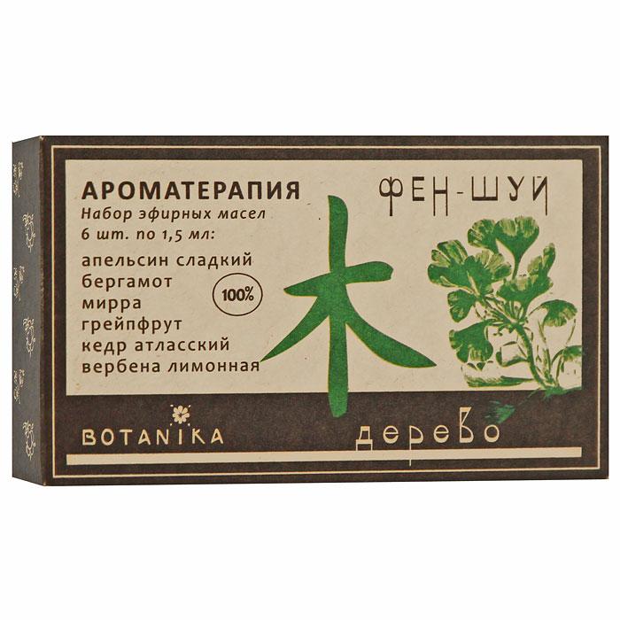 Набор эфирных масел Botanika Дерево, 6x1,5 млL08-8В набор Botanika Дерево входят 100% эфирные масла: апельсин сладкий, бергамот, вербена, грейпфрут, кедр атласский, мирра. Эти эфирные масла способствуют развитию, росту и расцвету, несут с собой мир и покой, являются антидотами стрессов, простуд, болезней. Снимают душевную боль, помогают разобраться в себе. Символизируют прибыль, гармонию в отношениях с окружающими, спокойствие, карьерный рост, жизнь и здоровье. Покровительствуют творчеству, семье. Развивают терпимость и интеллигентность. Характеристики:Объем: 6 x 1,5 мл. Производитель: Россия. Товар сертифицирован.
