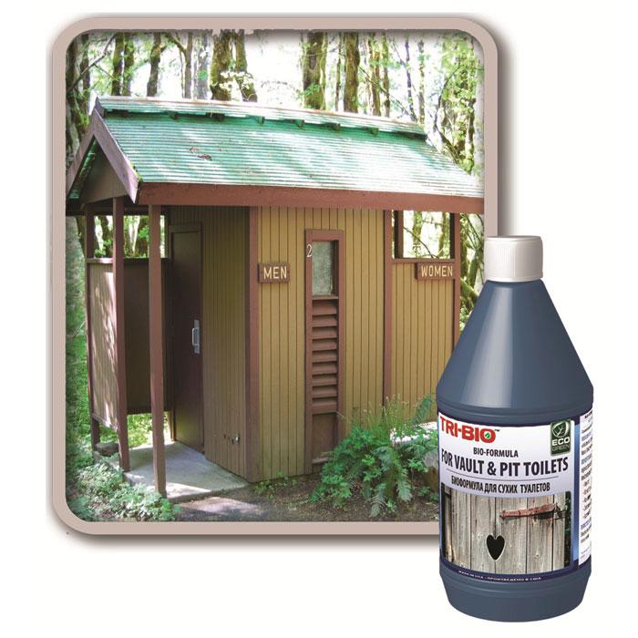 """Биоформула для сухих туалетов """"Tri-Bio"""", 500 мл 0086"""