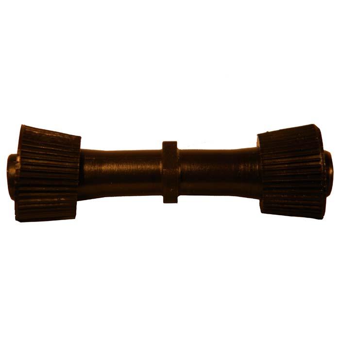 Муфта компрессионная-соединительная BOUTTE, цвет: черный, 16 мм8403160Муфта компрессионная-соединительная BOUTTE предназначена для соединения на капельной линии. Имеет накидные гайки. Характеристики: Материал: пластик. Размеры муфты: 9 см x 2,5 см х 2,5 см. Размер упаковки: 13 см х 10 см х 2,5 см.