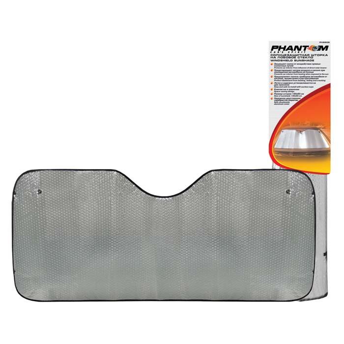 Шторка на лобовое стекло Car's spirit, солнцезащитная, 130 см х 60 см
